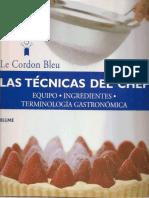 Las Tecnicas Del Chef -Le Cordon Bleu.pdf