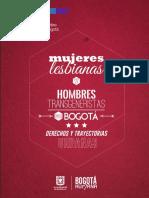 Mujeres Lesbianas y Hombres Transgeneristas en Bogotá