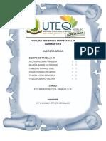 Auditoria Exposición Unidad #4