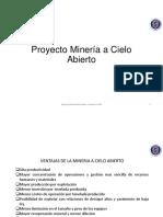 Introducción Proyecto Minería a Cielo Abierto Sem 1 2016 V1