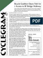 Cyclegram Spring 2000