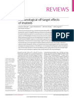 Immunological Off-target Effects of Imatinib