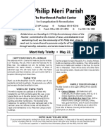 Bulletin for May 22 2016