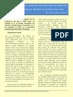 JIMÉNEZ GONZÁLES, Edwin - Actualidad y Futuro Del Régimen de Impugnación Penal
