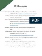 keystone project bibliography