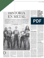 Historia en Metal - Entrevista a Disinter