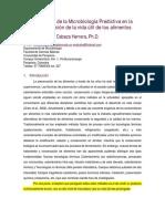 VU y Microbiología Predictiva