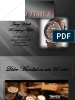 Parcial Final Caso Timex