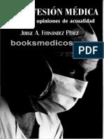 La Profesion Medica Conceptos y Opiniones de Actualidad
