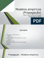 Modelos empíricos