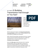 Is the US Building Transmission Fast Enough or Too Fast_ _ Greentech Media