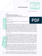 Carta Notarial de Laila Fátima Gaber Boschiazzo