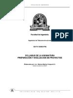 Preparacion y Eval Proyectos