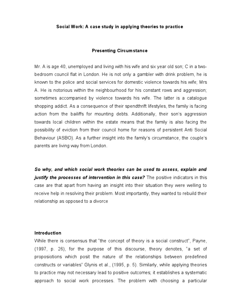 cover letter for domestic violence job - case study examples of child abuse