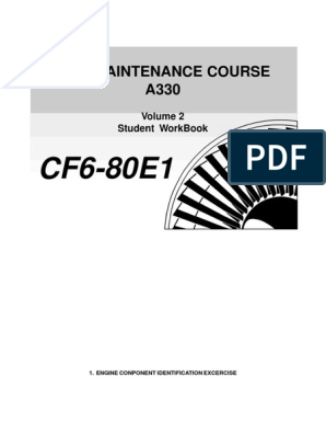 CF6-80E1 - Components Location | Mechanical Fan | Valve
