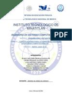 Certificaciones Para La Carrera de ISC