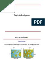 Manejo de Emulsiones UNAM