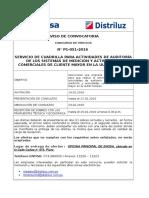 Calendario Concurso P1 051 2016