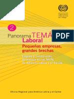 Empleo y Condiciones de Trabajo en Las Mype de America Latina y El Caribe
