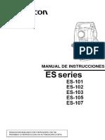 Manual Topcon ES Series - Español