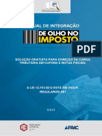 Manual de Olho No Imposto Afrac