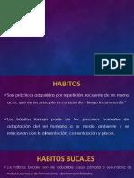 Habitos Nocivos en Ortodoncia