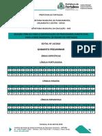 Edital 14 2016 Gabarito Preliminar