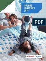 Informe Financiero SODIMAC 2014