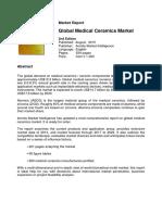 Global Medical Ceramics Market