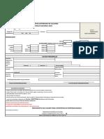 Solicitud de Licencia Nacional Temporal FEC - MTB 2016