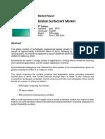 Global Surfactant Market
