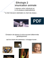 Ethologie La Communication Animale Diaporama 21 Pages 2,5 Mo