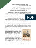 O Operariado e o Anarquismo em Amanhã, de Abel Botelho