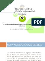 Delitos Uruguay 2015