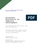 CIES Full Case Study Report - Final Copy English 2010 Lasting Impact