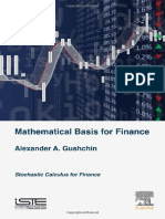 Stochastic Calculus for Quantitative Finance Scan