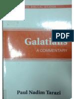 Galatians a Commentary - Paul Tarazi