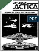 Battlestar Galactica Starfighter Instruction Book