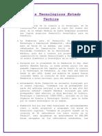 Avances Tecnológicos Estado Táchira