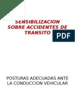 Sensibilizacion Sobre Accidentes de Transito