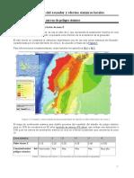 Peligro Sismico Ecuador