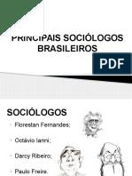 Principais Sociólogos Brasileiros