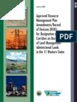 Energy Corridors Final Signed ROD 1-14-2009