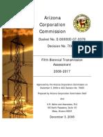 Arizona Corporation Commission 2008