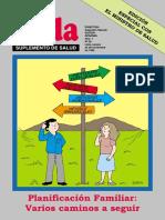 Planificacion Familiar - Varios Caminos a Seguir - Cartilla