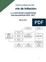 Reporte de Inflacion Marzo 2016