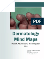Dermatology Mind Maps
