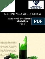 ABSTINENCIA ALCOHÓLICA diap
