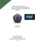 Proposal Aplikasi Jurnal Keperawatan
