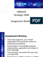 Assessment Briefing